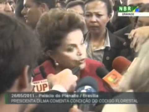 Dilma fala sobre kit gay, Código Florestal e Palocci