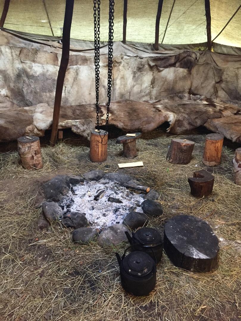 Отчет Камчатка. Внутри Яранги