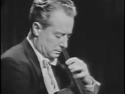 Pierre Fournier - Zoltán Kodály Sonata for Cello Solo in B Minor, Op.8