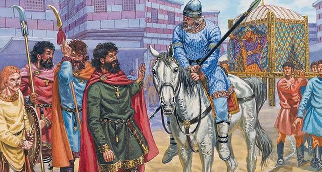 Наемники византийцев