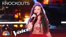 "Chevel Shepherd's Pure Country on Cover of ""Travelin' Soldier"" - The Voice 2018 Knockouts"