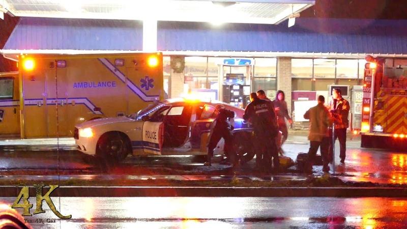 Kirkland: Enfant et homme blessés par balle / Tactical standoff after kid shot 11-9-2018