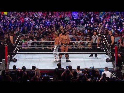 WWE Super ShowDown The Shield vs Braun Strowman Dolph Drew McIntyre WWE Super show down Highlight