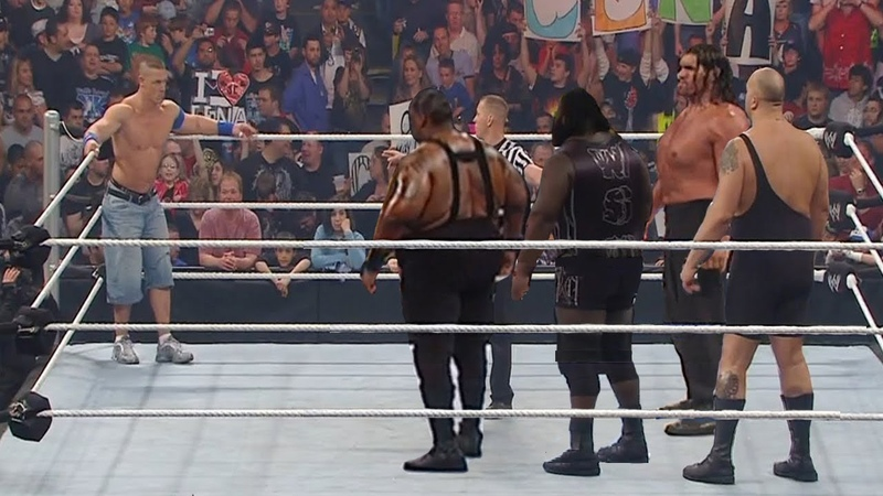 John Cena done The Impossible defeats 4 Monsters