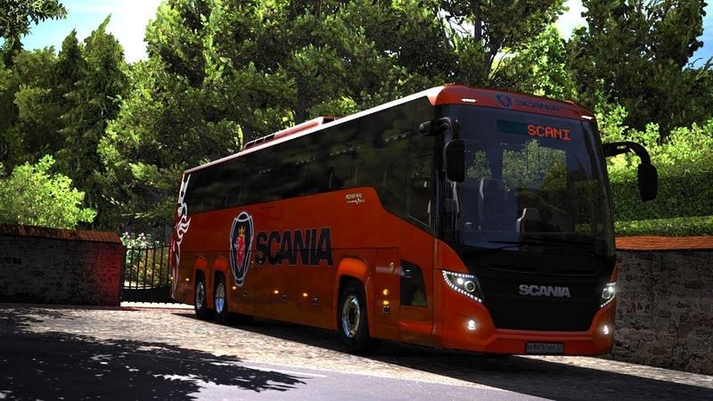 Scania Touring Bus Euro Truck Simulator 2 Mod