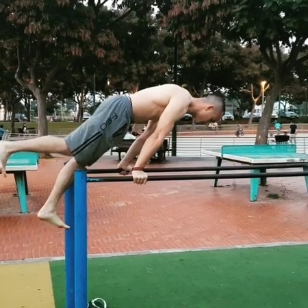 Streetworkout Calisthenics - Body Control by Shaked Hulio