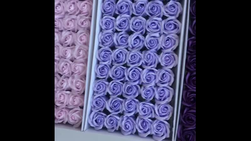 🌹Представляем новые цвета мыльных розочек от @ pozitivdecor🌹 🌹Невероятно красивые,неувядающие, супер-реалистичные розы из мыла о