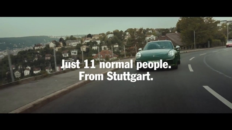 The one millionth Porsche 911 Who was able to get behind the wheel