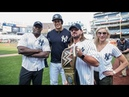AJ Styles hangs out with Giancarlo Stanton at Yankee Stadium: SummerSlam Diary