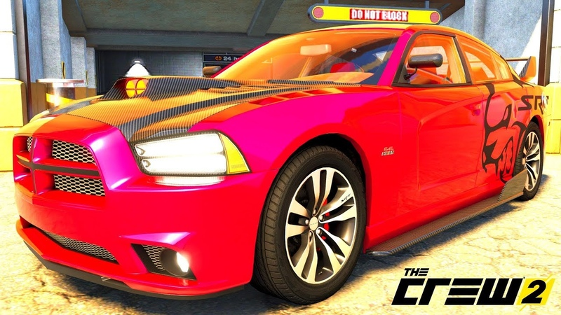 THE CREW 2 GOLD EDiTiON (TUNiNG) DODGE CHALLENGER SRT-8 PART 524 ...