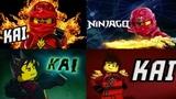 LEGO ninjago KAI + Jay, Cole, Nya, Zane, Lloyd, Sensei, Garmadon, new season series and par Ниндзяго