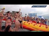 NO COMMENTS 19 07 full HD  FLYBOARD  Летающие дельфины  Шоу в Лазаревском HD)