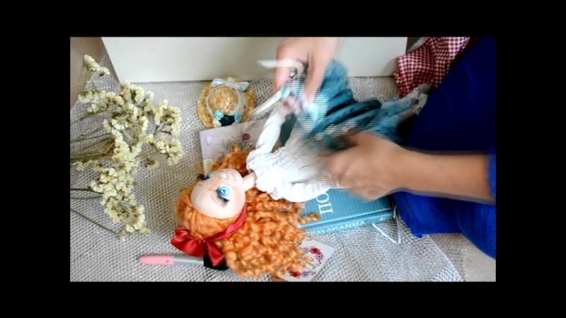 Текстильная куколка Поллианна