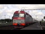 ЭП10-009 с поездом Москва - София
