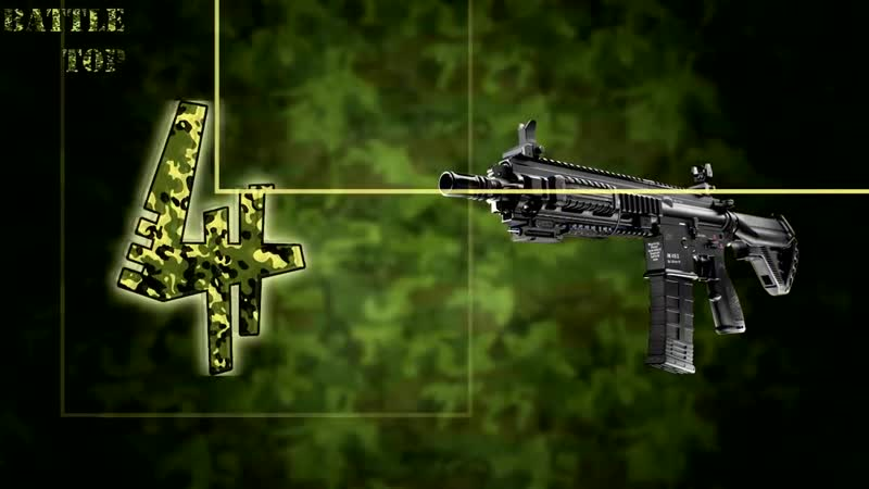 5 ЛУЧШИХ АВТОМАТОВ мира [✪] АК-12 M4 Carbi Steyr AUG FN SCAR Battle Top