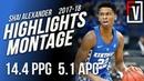 Shai Gilgeous-Alexander Kentucky Freshmen Highlights Montage 2017-18 | 14.4 PPG, 5.1 APG!