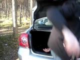 У Toyota Avensis очень вместительный багажник)