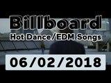 Billboard Hot DanceElectronicEDM Songs TOP 50 (June 2, 2018)