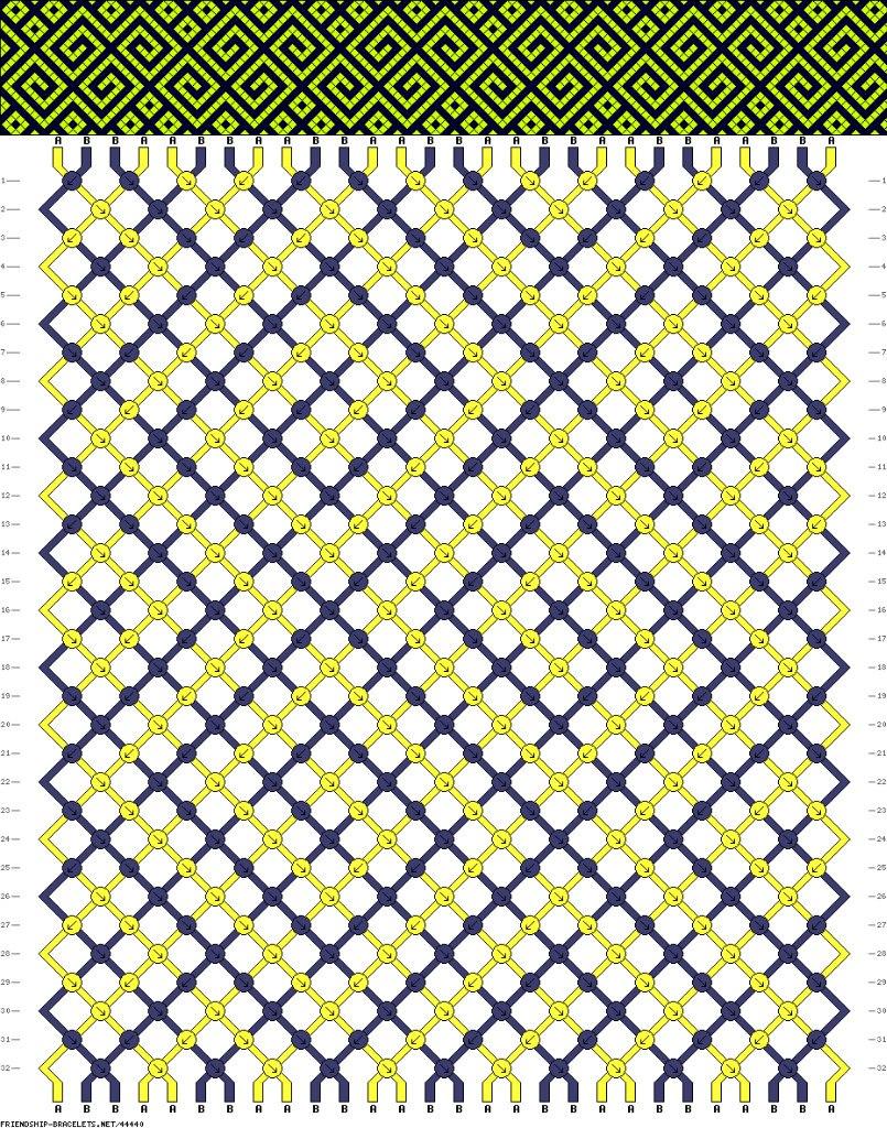 Линкин парк схема для фенечки