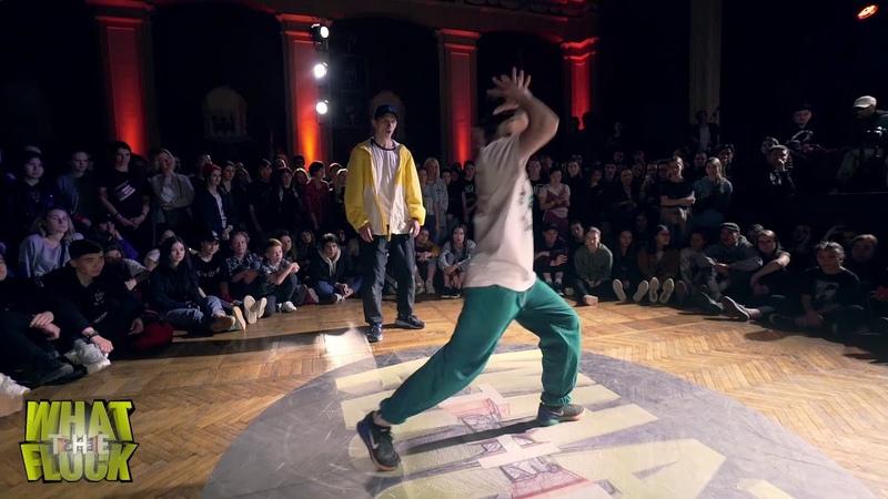 What The Flock vol.5 | Hip-Hop 2x2 1/4 Ego Valusha vs Irina S.N.CH. Dam'en