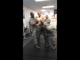 US Air Force Girl gets tazed