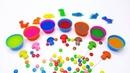 РАДУГА из динозавров и волшебные грибочки. Учим цвета. Развивающее видео для детей