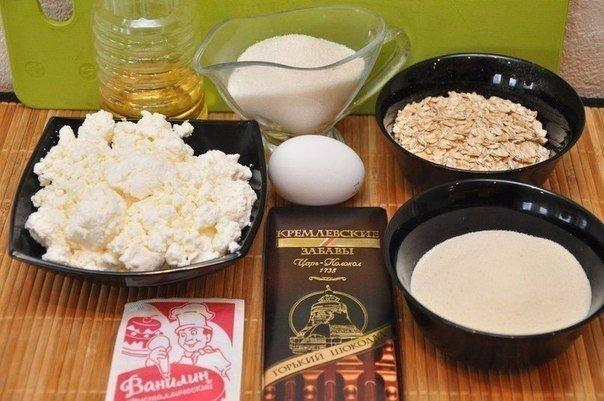 Сырники с шоколадной начинкой в панировке из