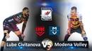 Lube Civitanova vs Modena Volley | Highlights | Italian Volleyball Super League