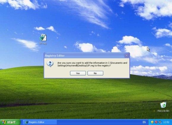 Правка реестра Windows XP даёт доступ к обновлениям до 9 апреля 2019года