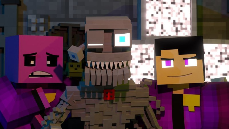 Welcome Back | FNAF Minecraft Music Video | 3A Display (Song by TryHardNinja)