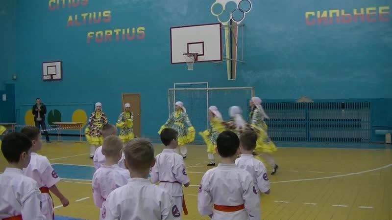 Открытие соревнования по кекусин каратэ среди кадетских школ г Набережные Челны