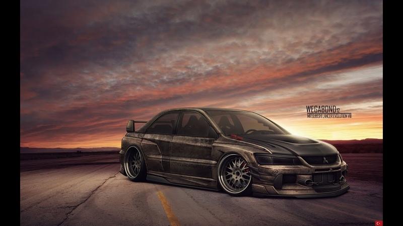 Need for Speed Underground 2 Mitsubishi Motors Lancer Evolution V Tuning Drift Drag Race