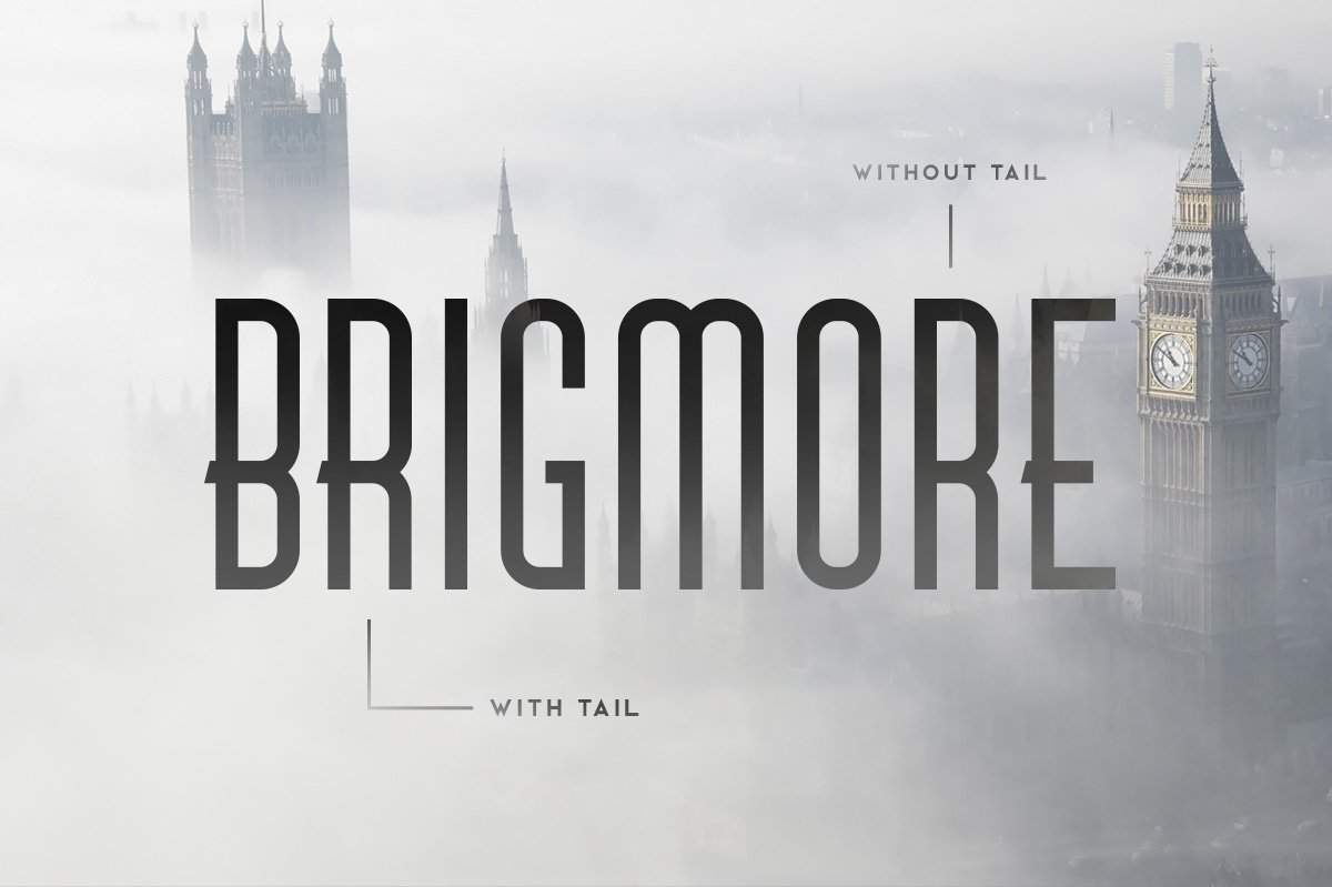 Шрифт - Brigmore