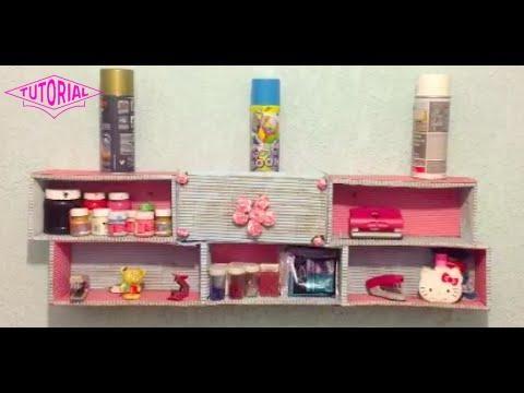 DIY Crea una REPISA con cajas de zapatos para organizar tu cuarto - Antifacita 3