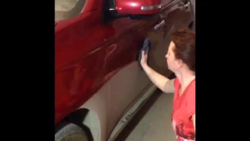 Моем машину за 15 минут 1 стаканом воды ПРОСТО! 8-982-524-27-11