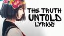 Nightcore - The Truth Untold (English cover / Female / Acoustic) BTS || Lyrics