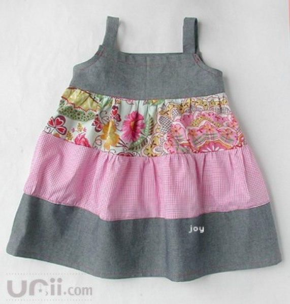 Сарафанчики для маленьких девочек своими руками
