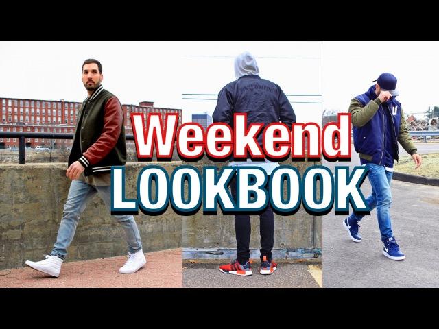 OUTFITS OF THE WEEKEND - Adidas NMD - Vans Sk8 Hi - Nike Air Force 1 - LOOKBOOK 6