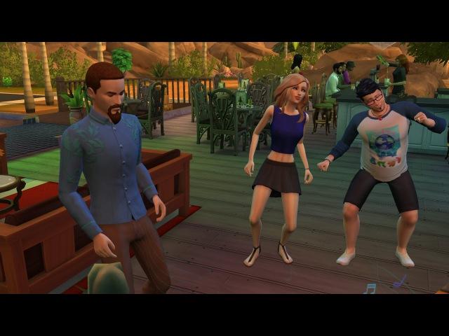 The Sims 4. Династия Шарп. 1.10. Свидание, неловкости и переезд