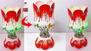 Tealight candle holder/flowervase from plastic bottle |Christmas decoration ideas|Best out Of Waste