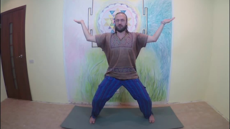Цигун упражнение для набора энергии