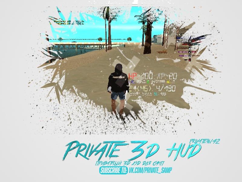 3D HUD для SA:MP 0.3.7