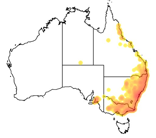 Ареал обитания: обитают в южной части восточного побережья (но не в Тасмании) и нескольких районах юго-восточной Южной Австралии