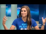Alex Morgan: Rio feels a little different, Fight for equal pay in progress.