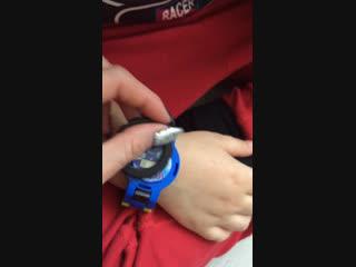 Видеообзоры на детские Часы