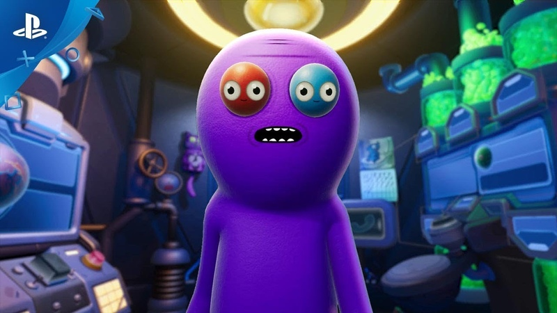 Trover Saves the Universe Release Date Trailer PS4