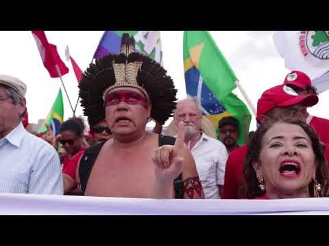 Lula é candidato! Ato de inscrição de candidatura, dia 15/08
