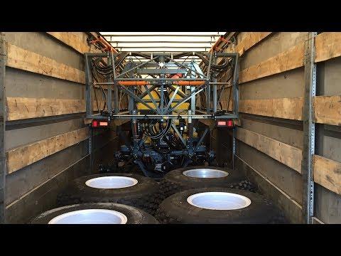Погрузка и крепление спецтехники взрыв колеса на ходу заправка фрионом и не только