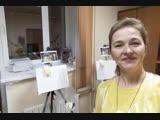 Корпоратив по живописи с Татьяной Букреевой. А вы готовы к праздникам?