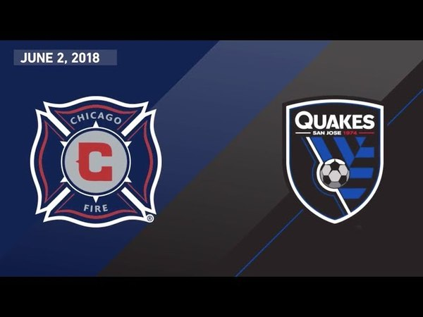 HIGHLIGHTS | Chicago Fire vs. San Jose Earthquakes | June 2, 2018